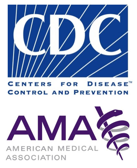 Centers for Disease Control and prevention and American Mediacl Association
