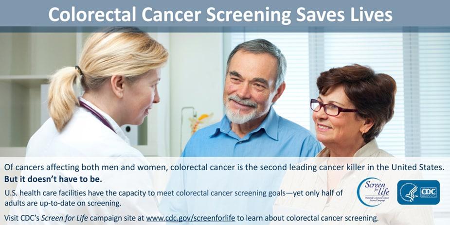 Colorectal Screening Saves lives