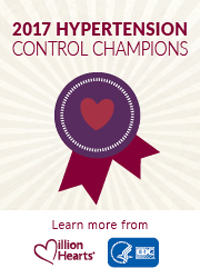 Hypertension Control Champions badge