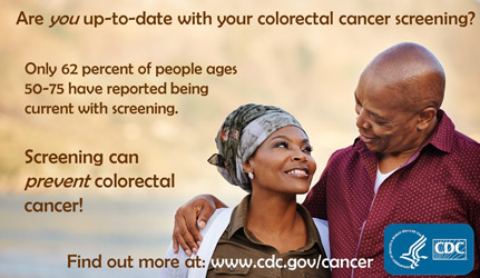 Are you up-to-date with your colorectal cancer screening?