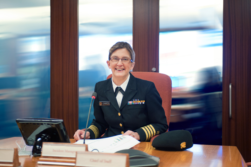 Inger K. Damon, MD, PhD (CAPT, USPHS