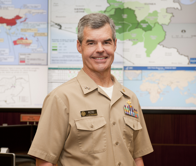 Stephen Redd, MD (RADM, USPHS)