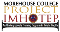 Morehouse, Project:IMHOTEP