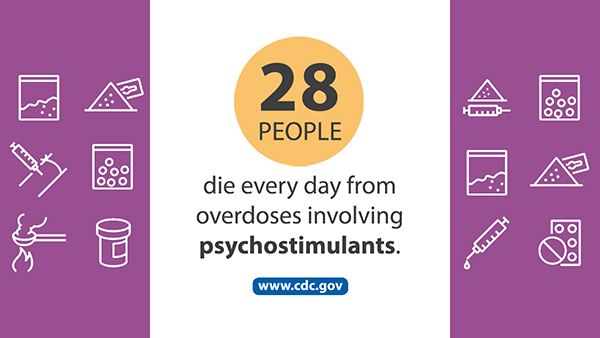 Drug Overdose Deaths Involving Cocaine and Psychostimulants with