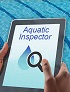 aquatic inspector app on an iPad