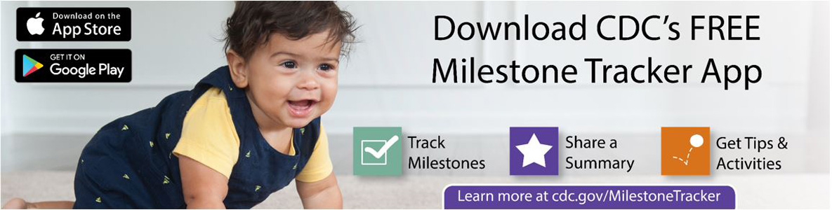 download cdc's free milestone tracker app