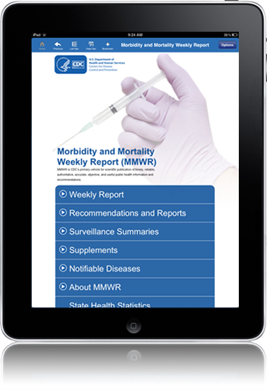 CDC Morbidity and Mortality Weekly Report (MMWR) Application