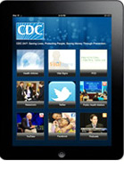 Mobile apps are an excellent way to deliver public health information. Learn more about CDC's apps.