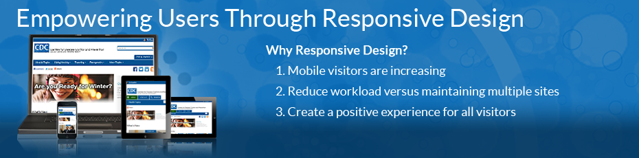 Why CDC changing their website to Responsive Design