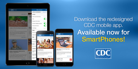 Check out the redesigned CDC mobile app