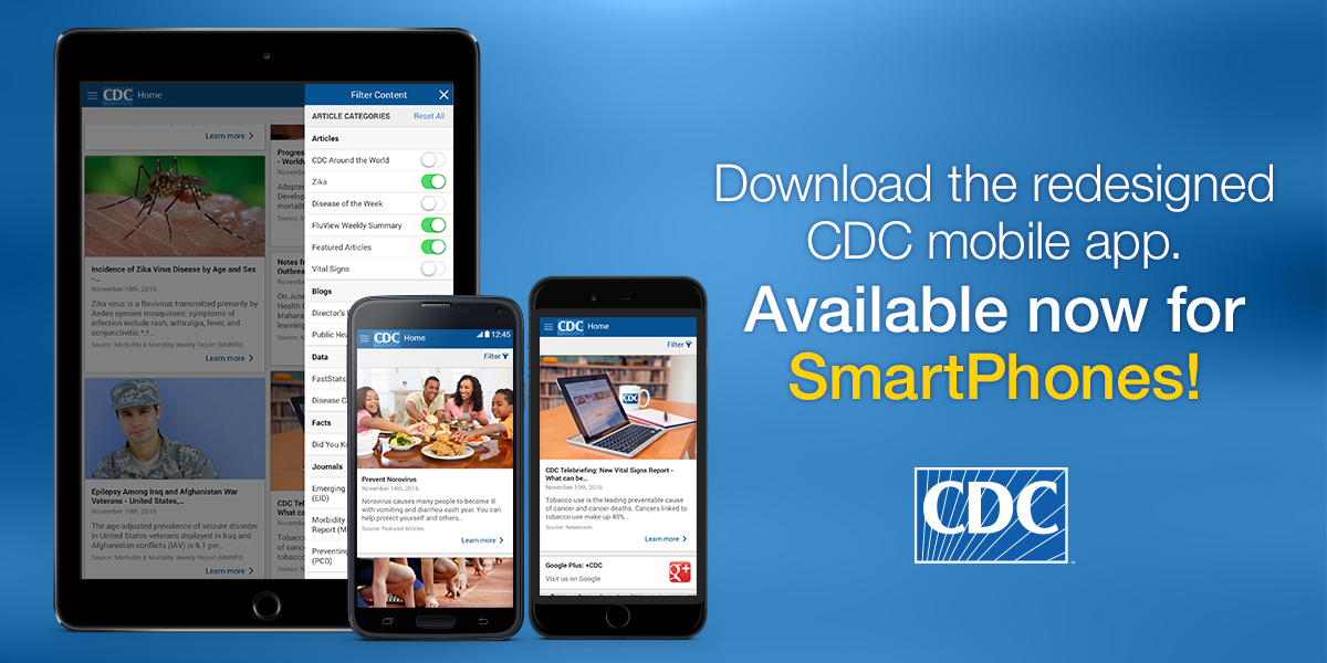 Check out the Redesigned CDC Mobile App | Mobile ...