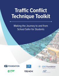 Traffic Conflict Technique Toolkit cover.