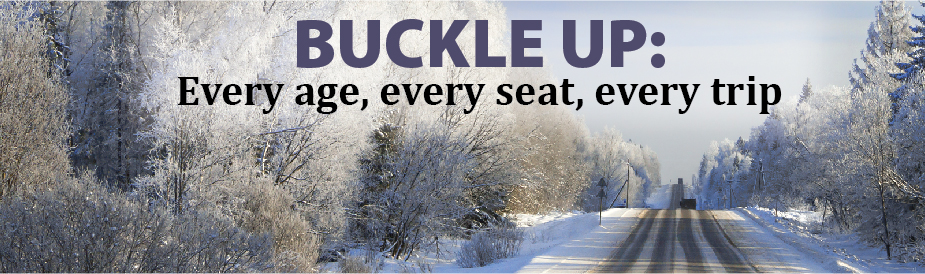 Buckle Up: Every age, every seat, every trip