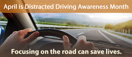 At 55 mph, sending or reading a text takes your eyes off the road for about 5 seconds, long enough to cover a football field.
