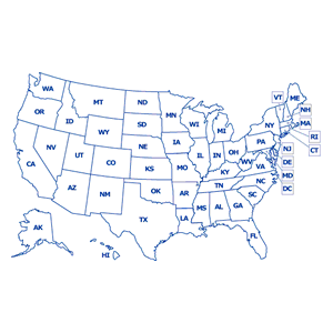 State Data And Information Https Www Cdc Gov Motorvehiclesafety States Index Html Us Map Outline
