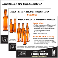 Likely Effects of Alcohol on Driving