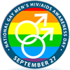 NationalLogo - Gay Men's HIV/ADIS Awareness Day: September 27
