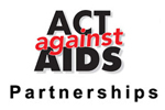 Act Against AIDS Partnerships Logo