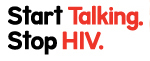 Start Talking. Stop HIV. logo