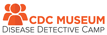 CDC Disease Detective Camp logo