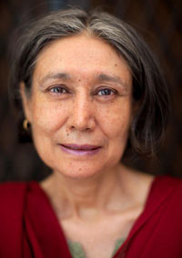 "Photo: ""Harmala Gupta"" from Without Borders: The Global Face of Cancer series by Carolyn Taylor"