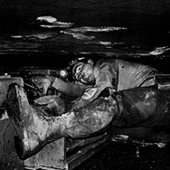 Photo: Coal miner working