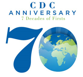 CDC 70th Anniversary: 7 Decades of Firsts