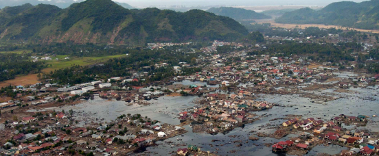 An earthquake in the Indian Ocean triggers a devastating tsunami, causing an estimated 228,000 deaths in 14 countries on three continents. The Thai Ministry of Public Health responds with assistance from CDC, the Armed Forces Research Institute of Medical Sciences, and WHO