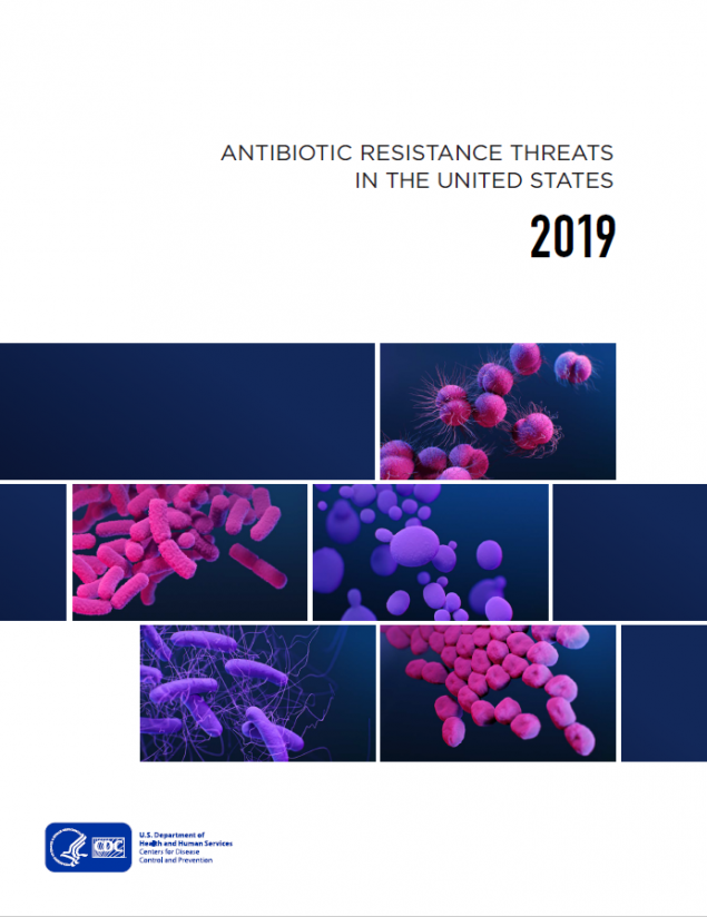 Antibiotic Resistance Threats in the United States, 2019 PDF cover