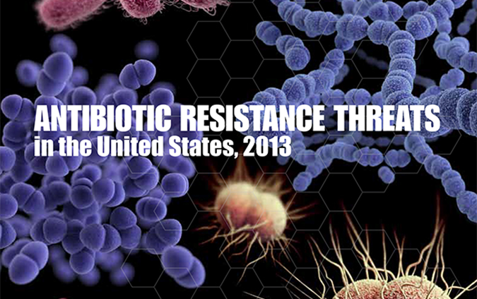 Antibiotic Resistance Threats Report 2013