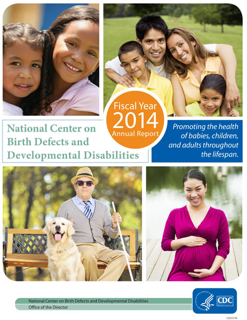 NCBDDD 2014 Annual Report Cover