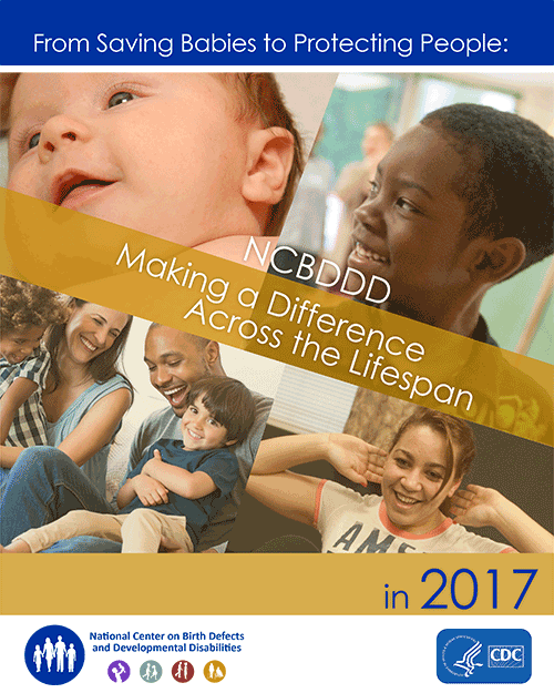 2017 NCBDDD Annual Report Cover