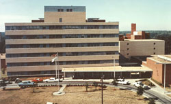 Picture of CDC building in 1946