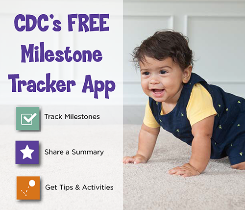 Cdc milestones learn the signs act early ncbddd download the milestone tracker app now altavistaventures Gallery