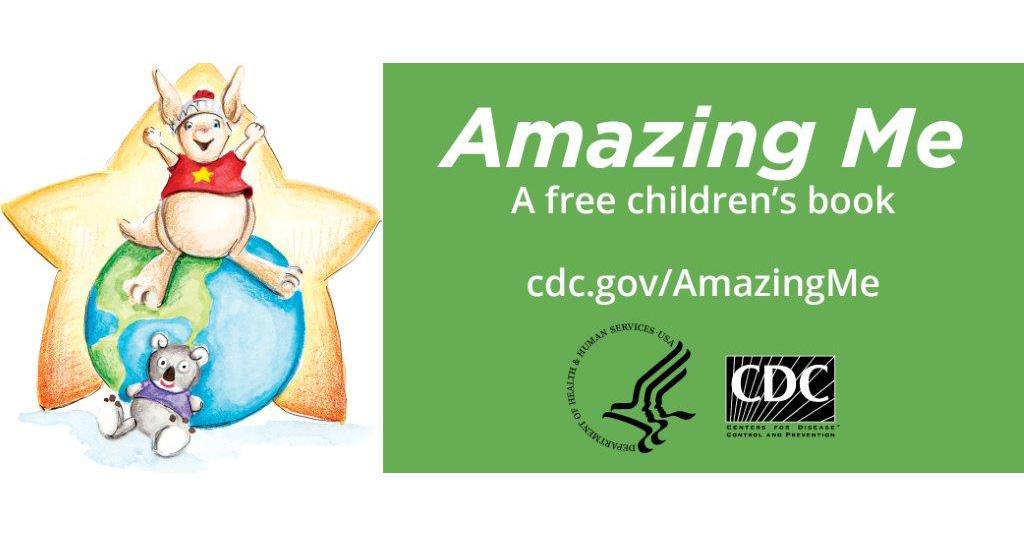 cdc s amazing books for children cdc