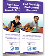 Milestone Brochure Track Your Child's Development Milestones