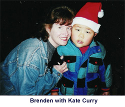 Brenden with Kate