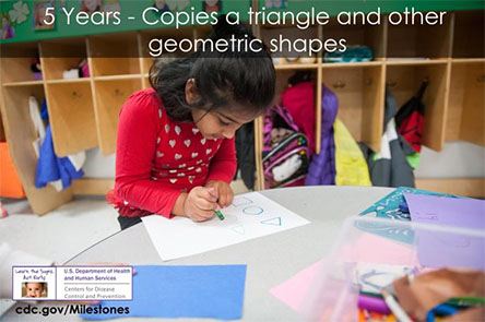 Copies a triangle and other geometric shapes