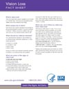 Vision Loss Factsheet