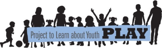 Project to Learn about Youth PLAY logo