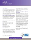 What is ADHD? Fact Sheet