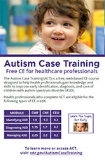 Flyer: Autism Case Training
