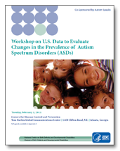 ASD Prevalence workshop summary cover