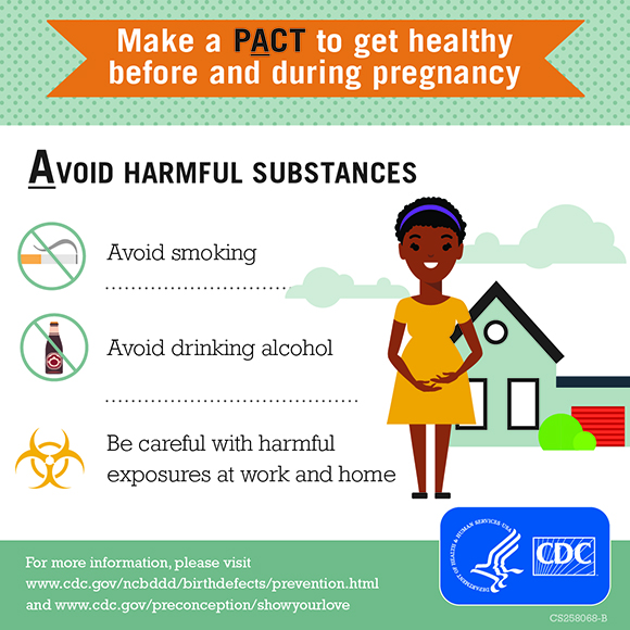 Commit To Healthy Choices To Help Prevent Birth Defects Cdc