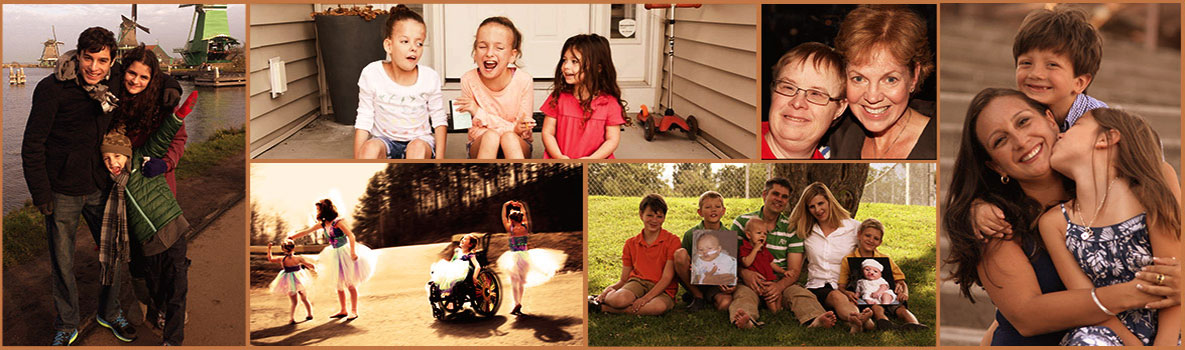 Collage: Birth Defects-Real Stories from Families