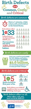 Birth Defects Infographic