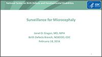Microcephaly Webinar Thumbnail