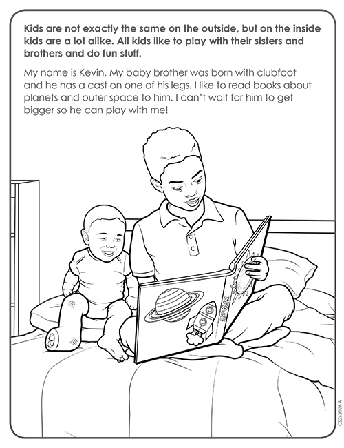 Coloring Page for Reading Activity thumbnail