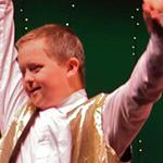 Keaton dancing