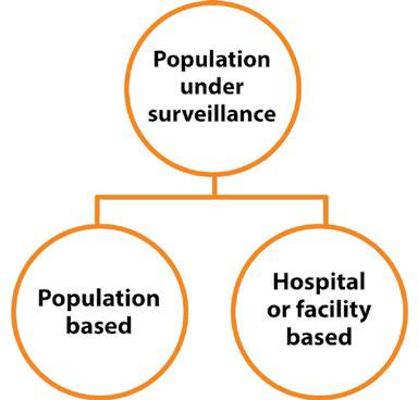 Fig. 3.1. Population coverage in surveillance programmes